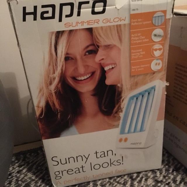 Summer glow facial sun bed tanning collagen