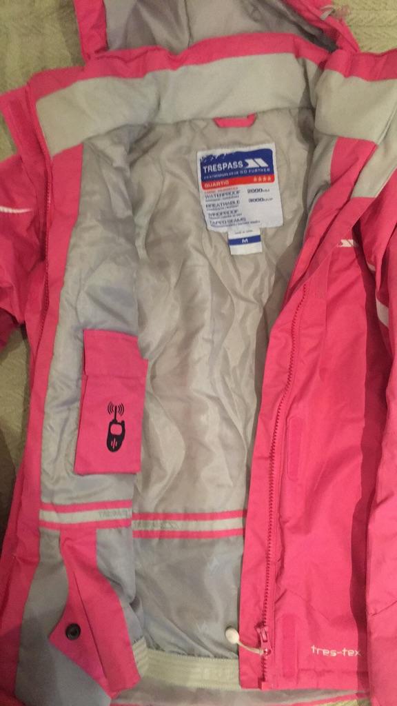 Trespass Pink Coat