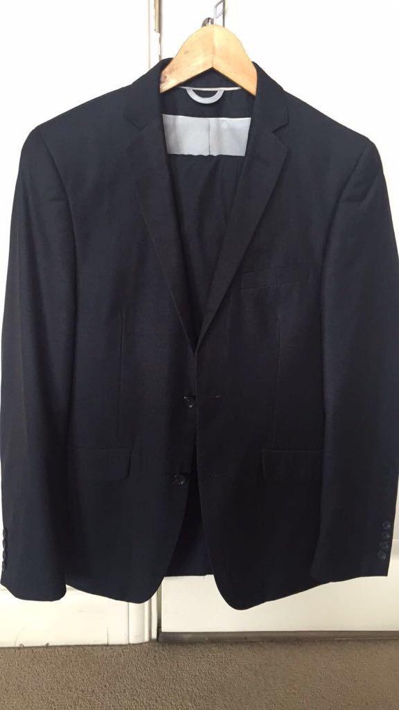 Excellent condition blue slim fit suit