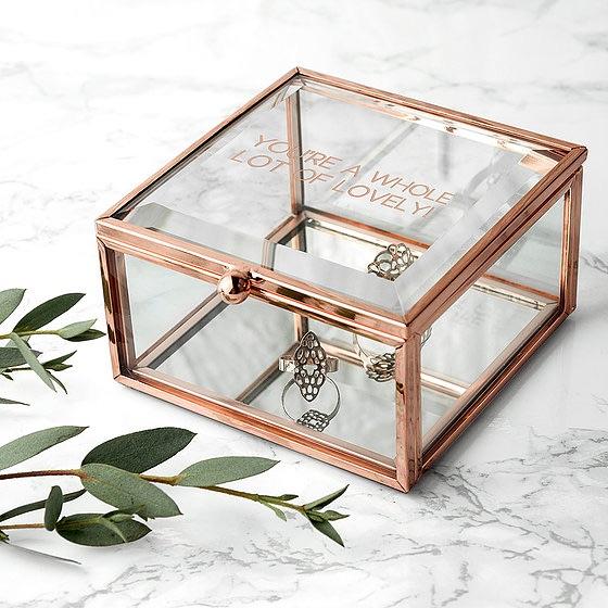 Personalised Glass Trinket