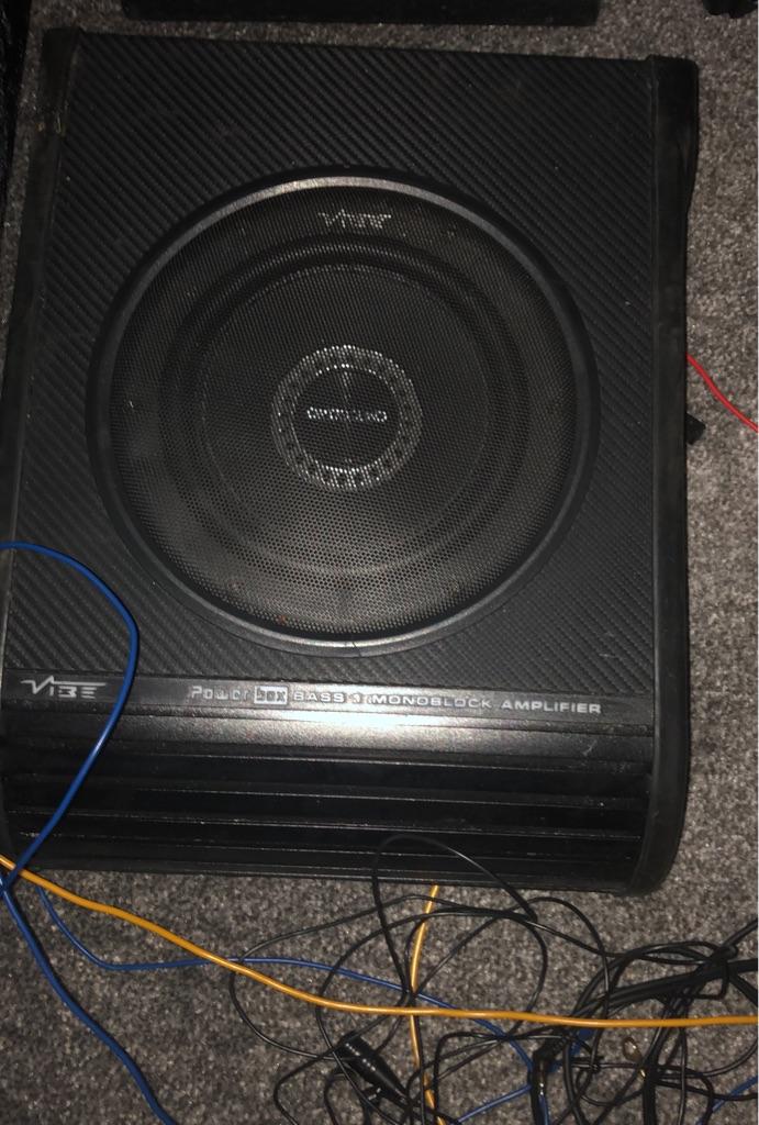 Vibe optisound bass speaker