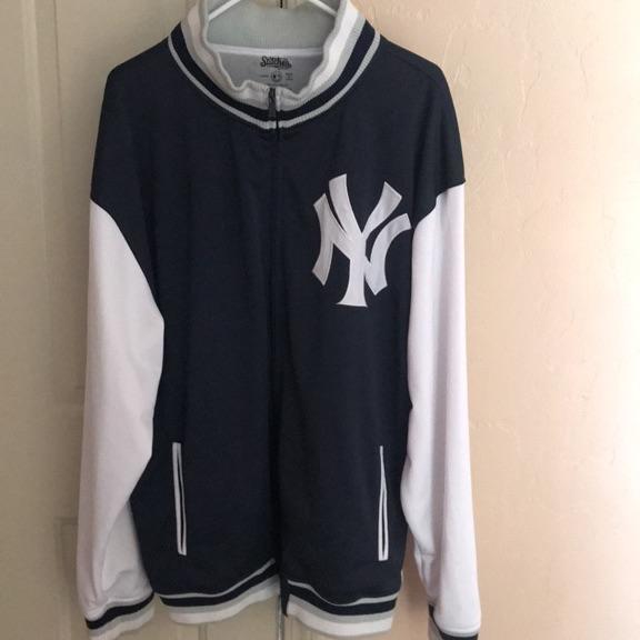 N.Y Yankee heavy hitter jacket.