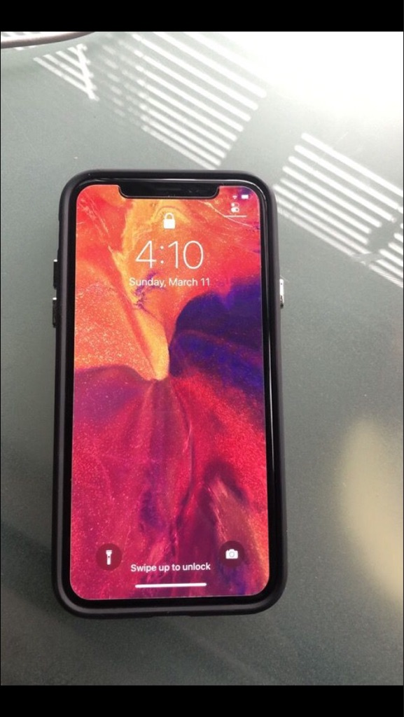 Black Apple iPhone X 256GB (Unlocked) Sprint