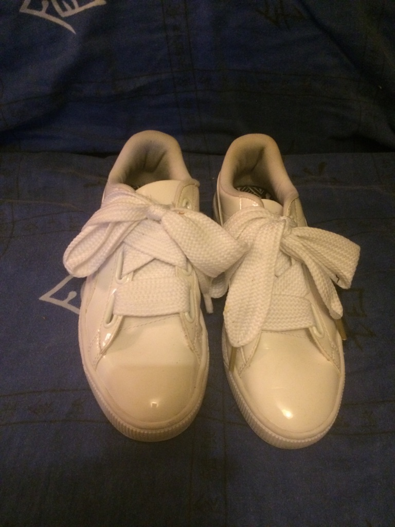 Puma basket woman's shoes, uk 6