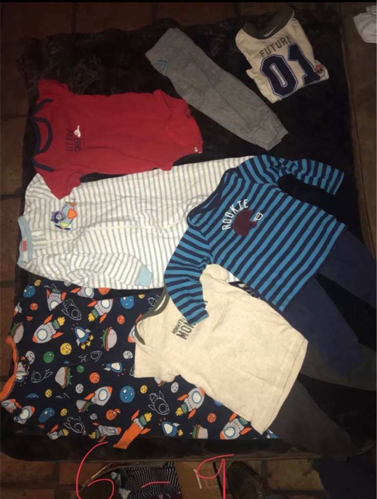 Baby boy clothes Newborn and 6-9 months