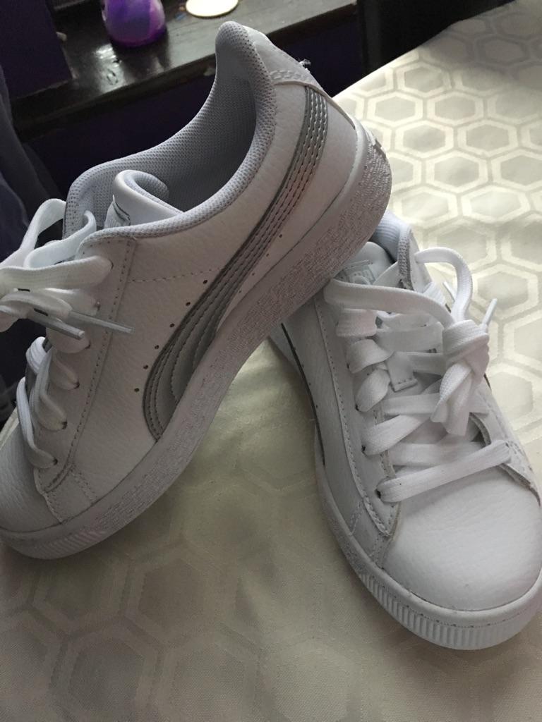Puma trainers size 1