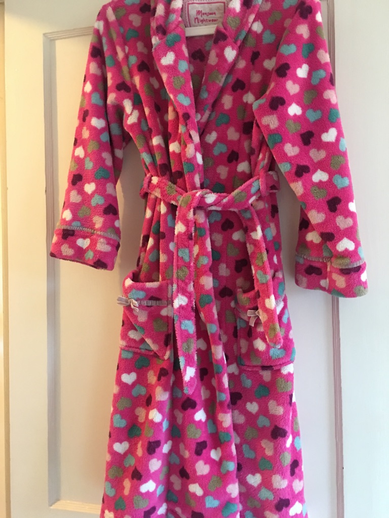 Monsoon Girl's Dressing Gown - Age 12-13