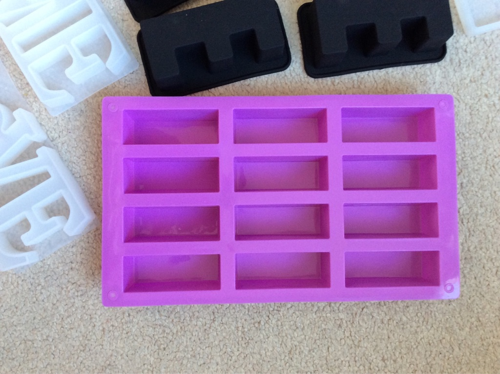 Job lot of Silicone Moulds - New