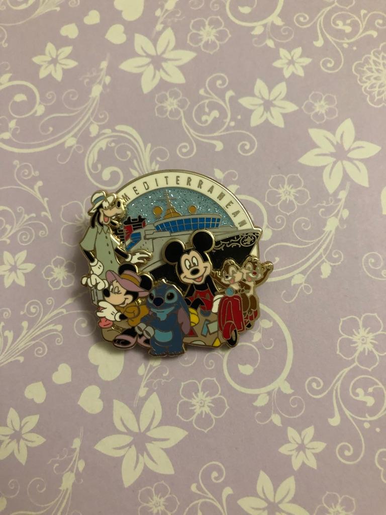 Mediterranean Disney pin