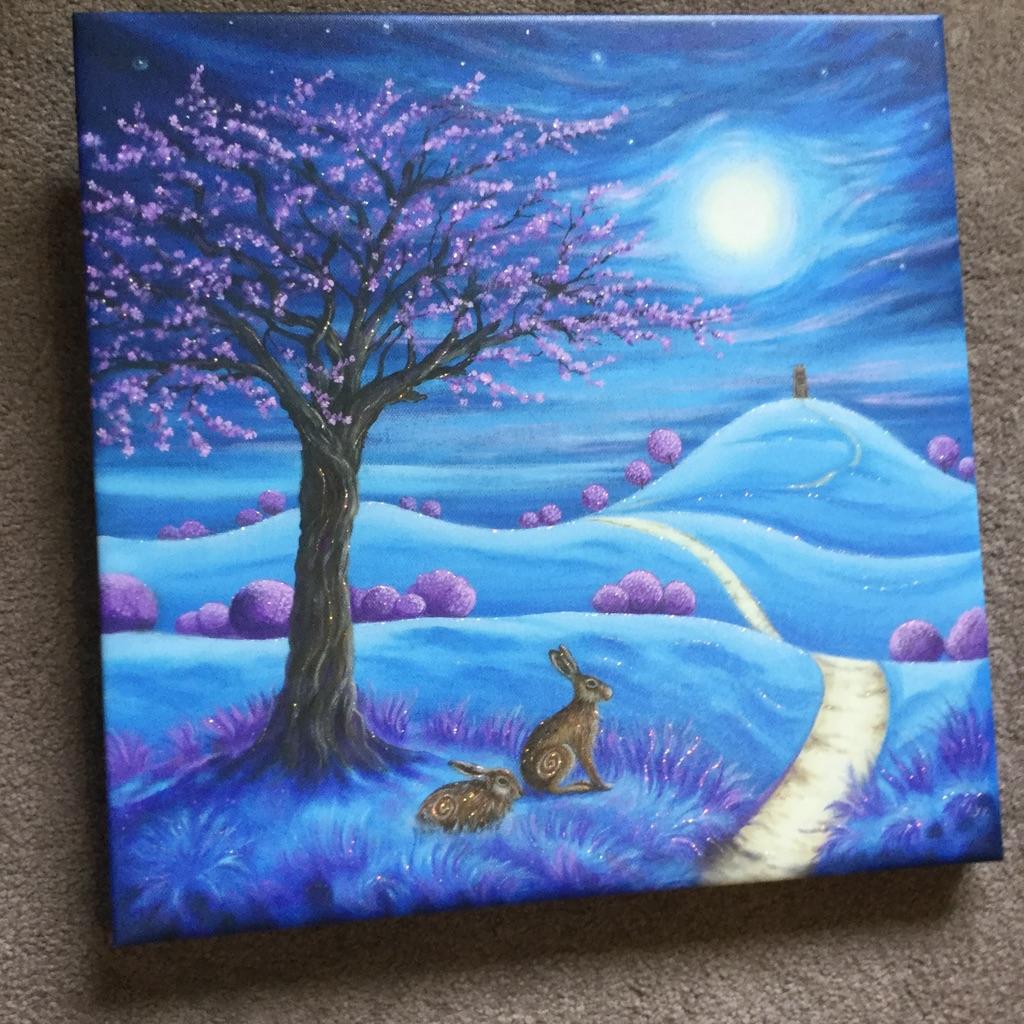 Contemplation by Lisa Sheldrake No 17/100