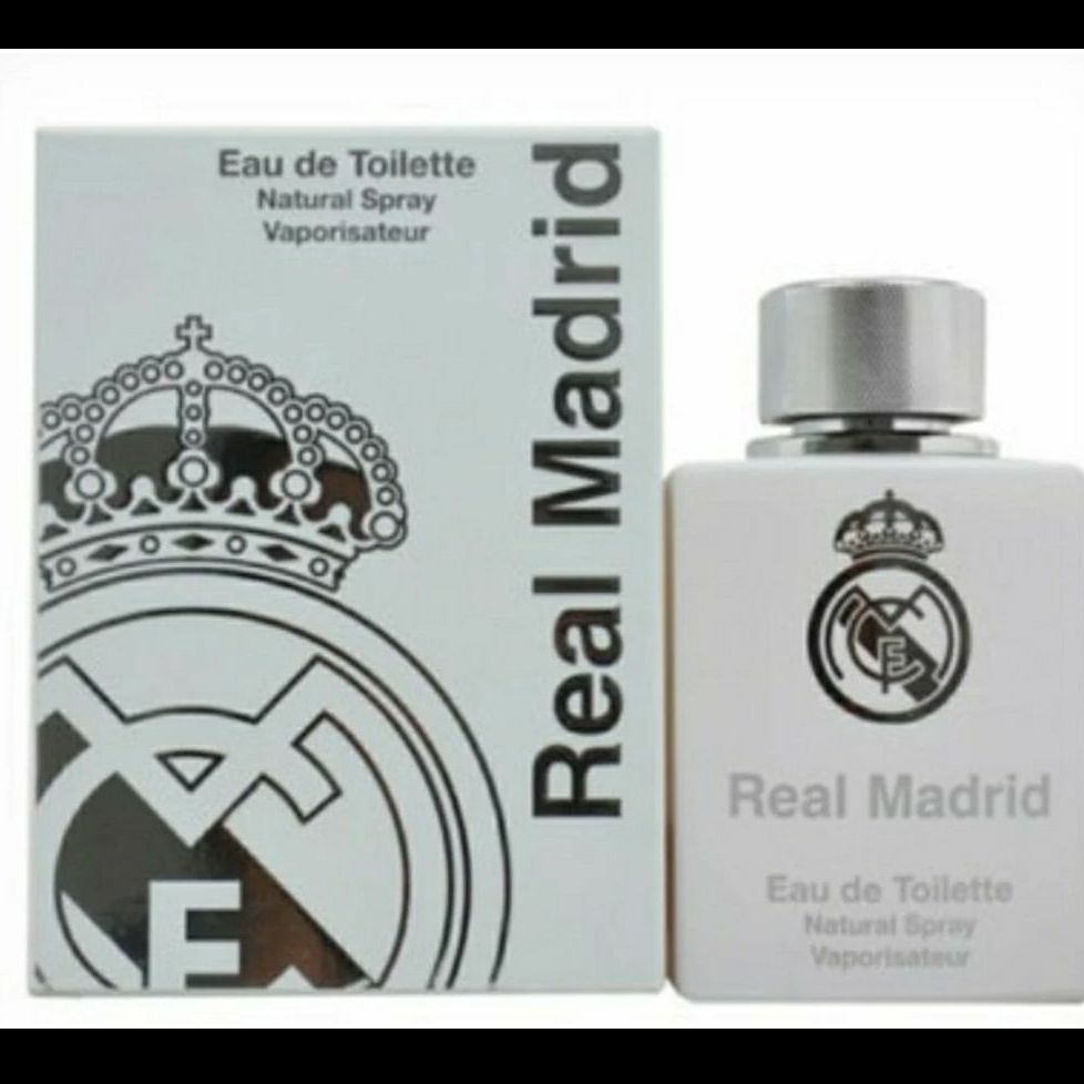 Real Madrid Eau de Toilette Spray, 3.4