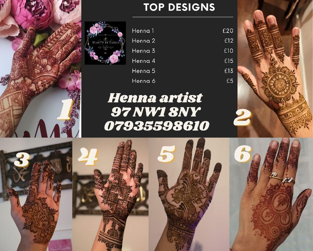 Henna products and services