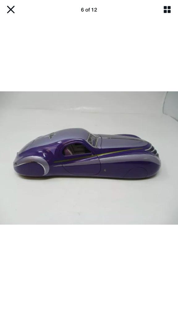 Franklin mint 1939 Dusenburg coupe
