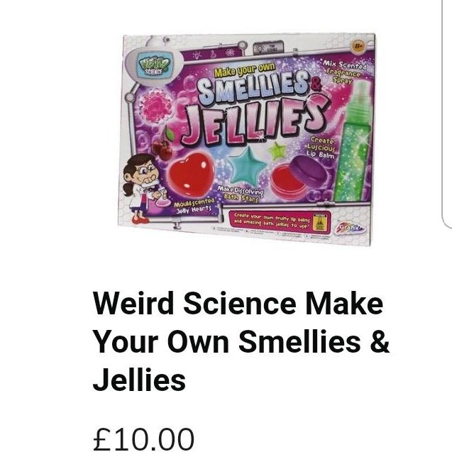 Weird science make your own smells and jellys