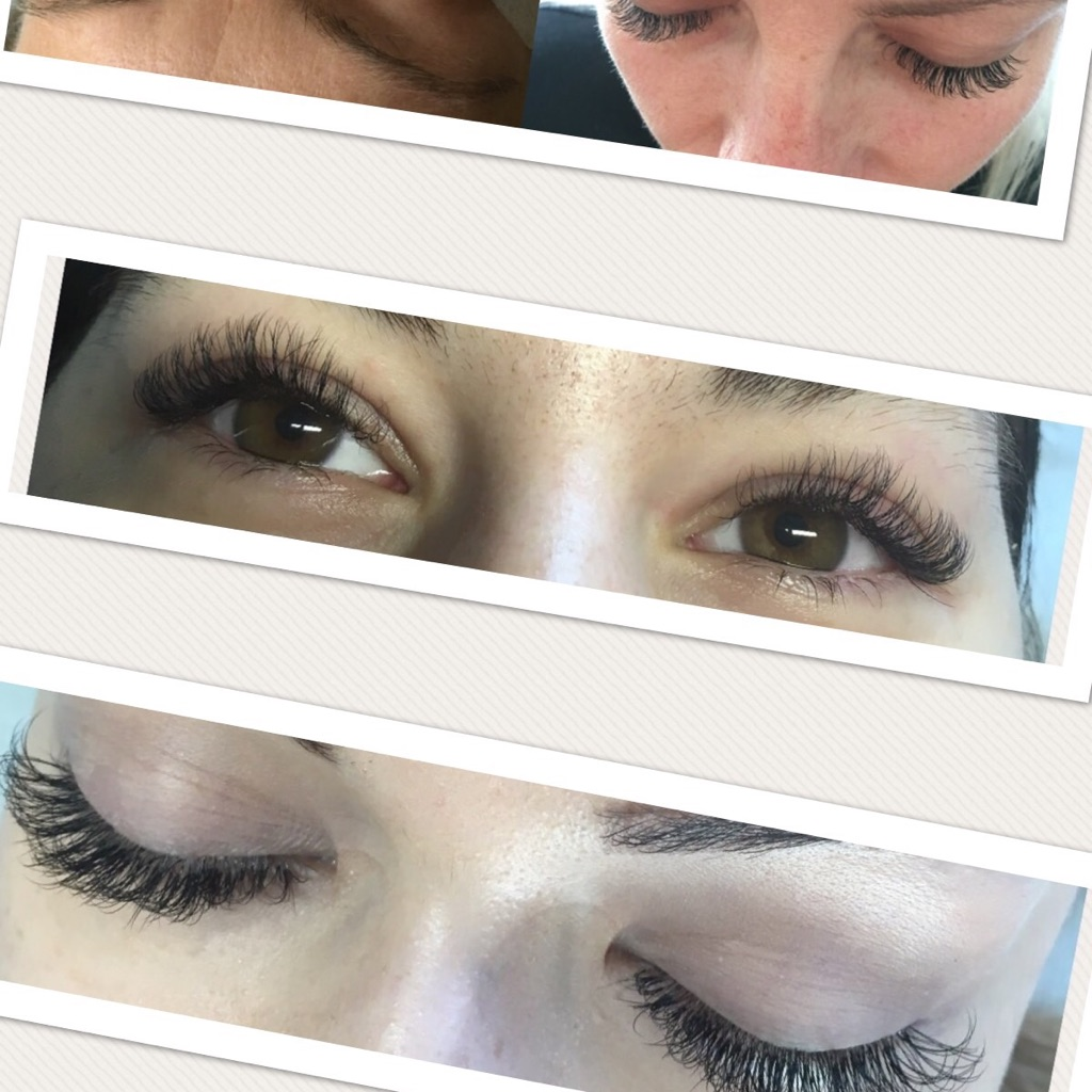 2D, 3D mink eyelashes extension