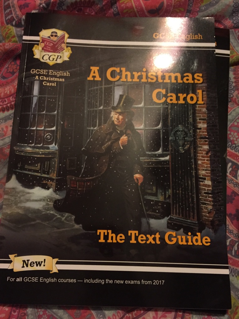 Christmas Carol Text Guide.A Christmas Carol Cgp Text Guide