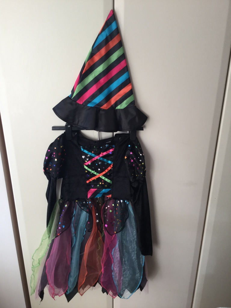 Child's witches Halloween costume