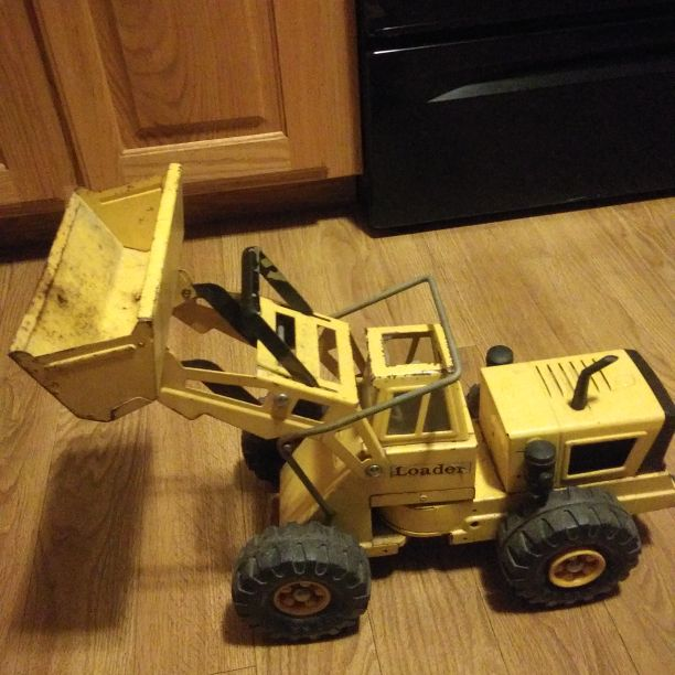 Vintage RICO Toy Construction Loader Made Of Metal