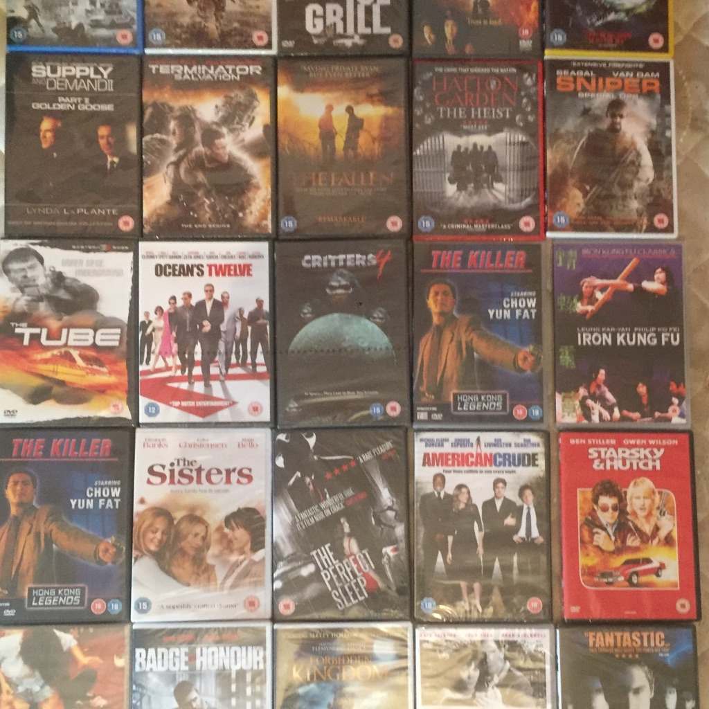 X25 DVD's brand new and factory sealed