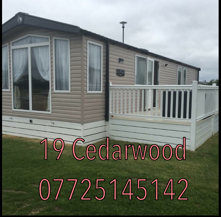 Luxury 3 bedroom caravan rental at flamingoland
