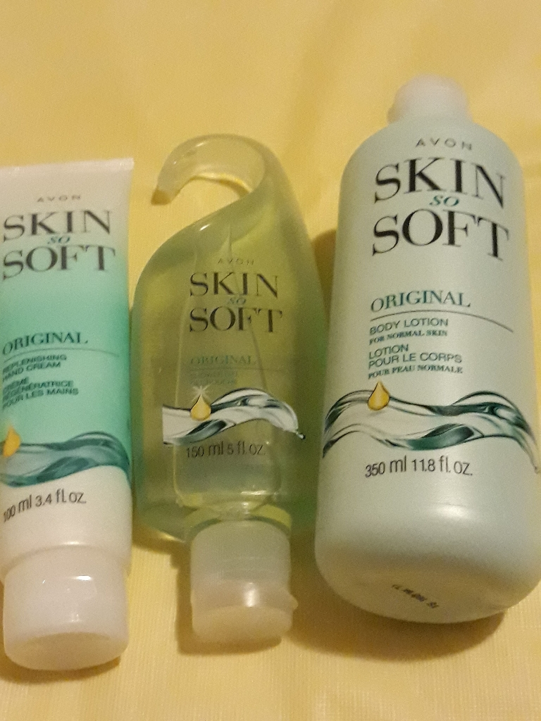 Skin so soft original set