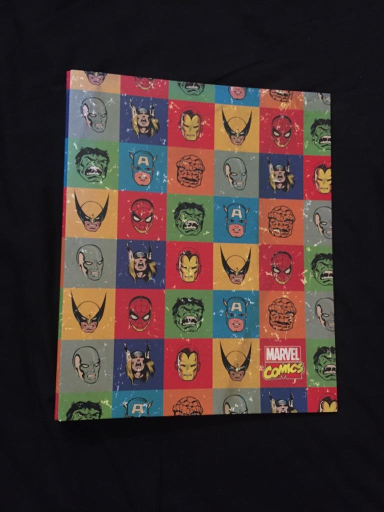 A4 Marvel Comic Folder