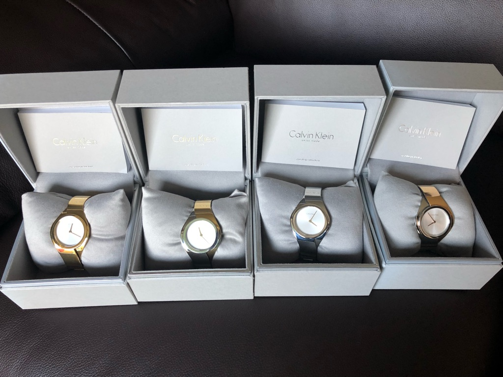 Calvin Klein Authentic Ladies Watches.