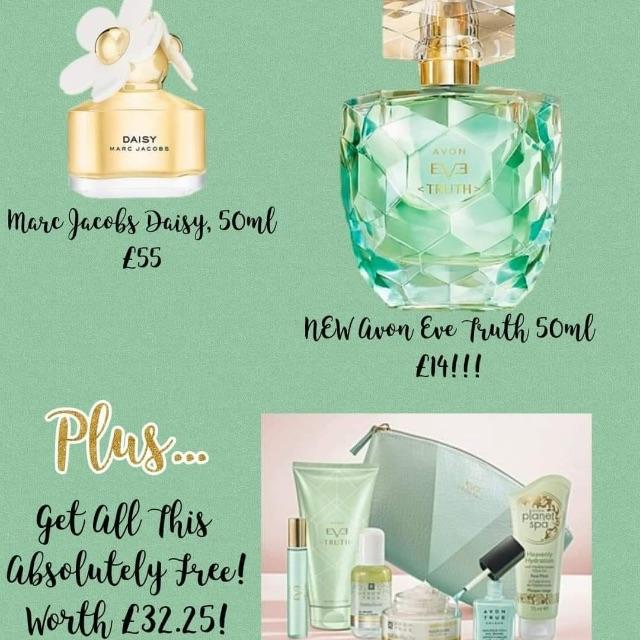 Brand New Avon Perfume Village