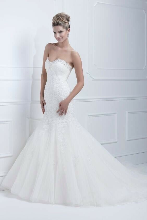 Ellis Bridals mermaid gown