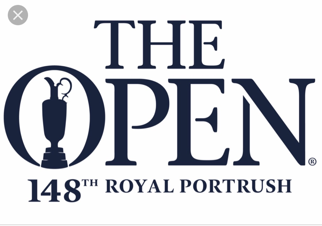 The Open FINAL DAY tickets x 2
