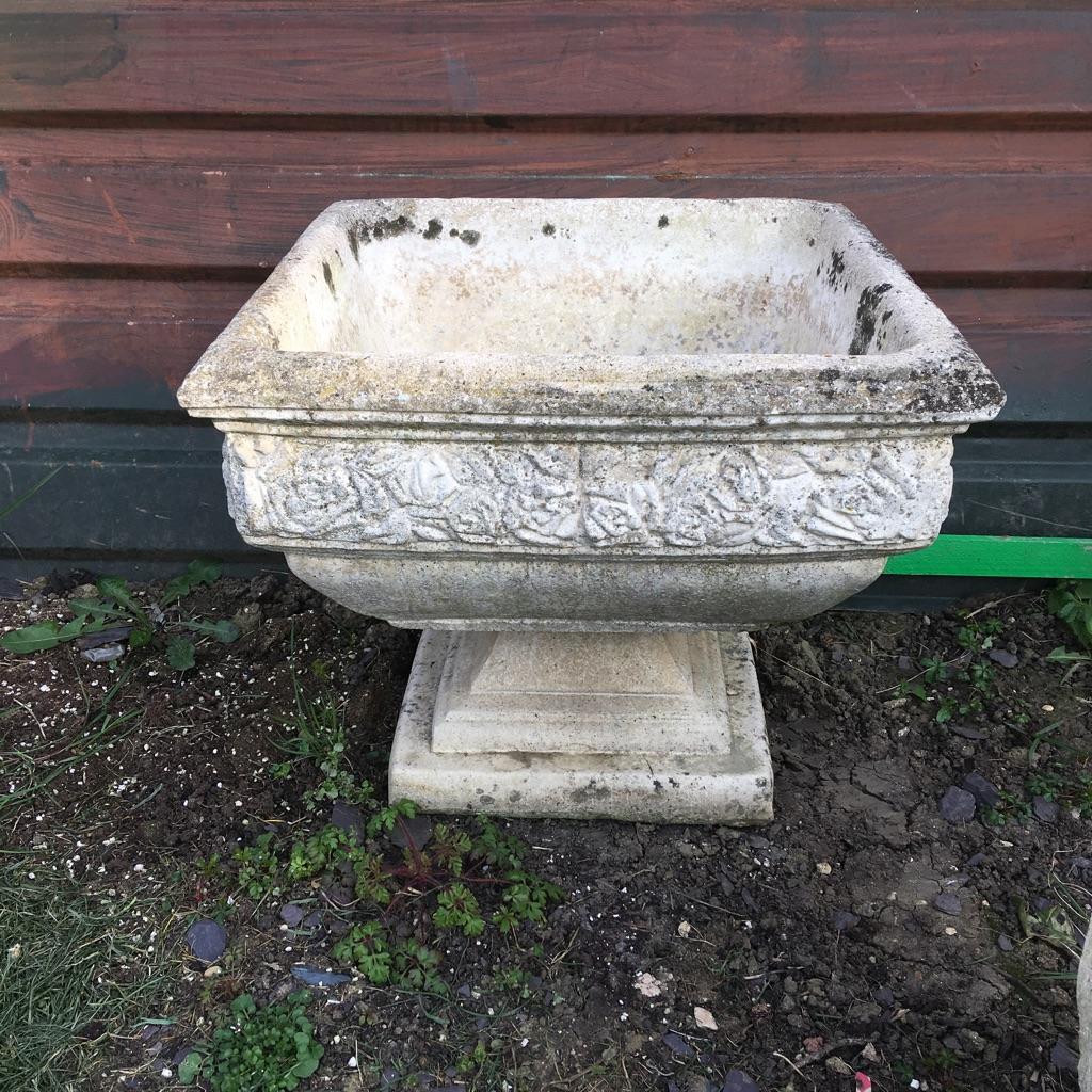 Old garden pot