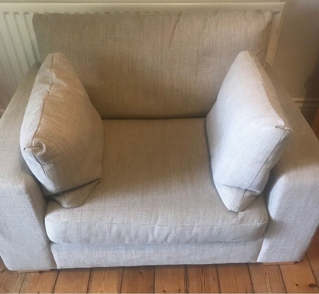 NEXT Snuggle Chair - Textured Weave