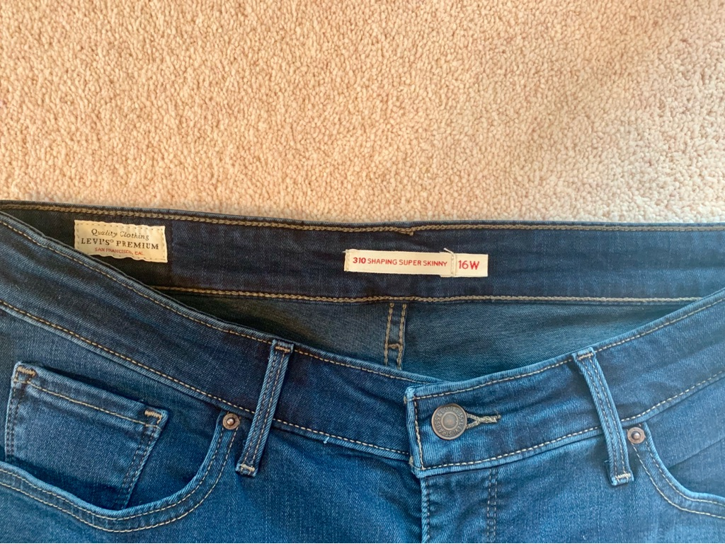 Women's Levi's Skinny Jeans with Stretch