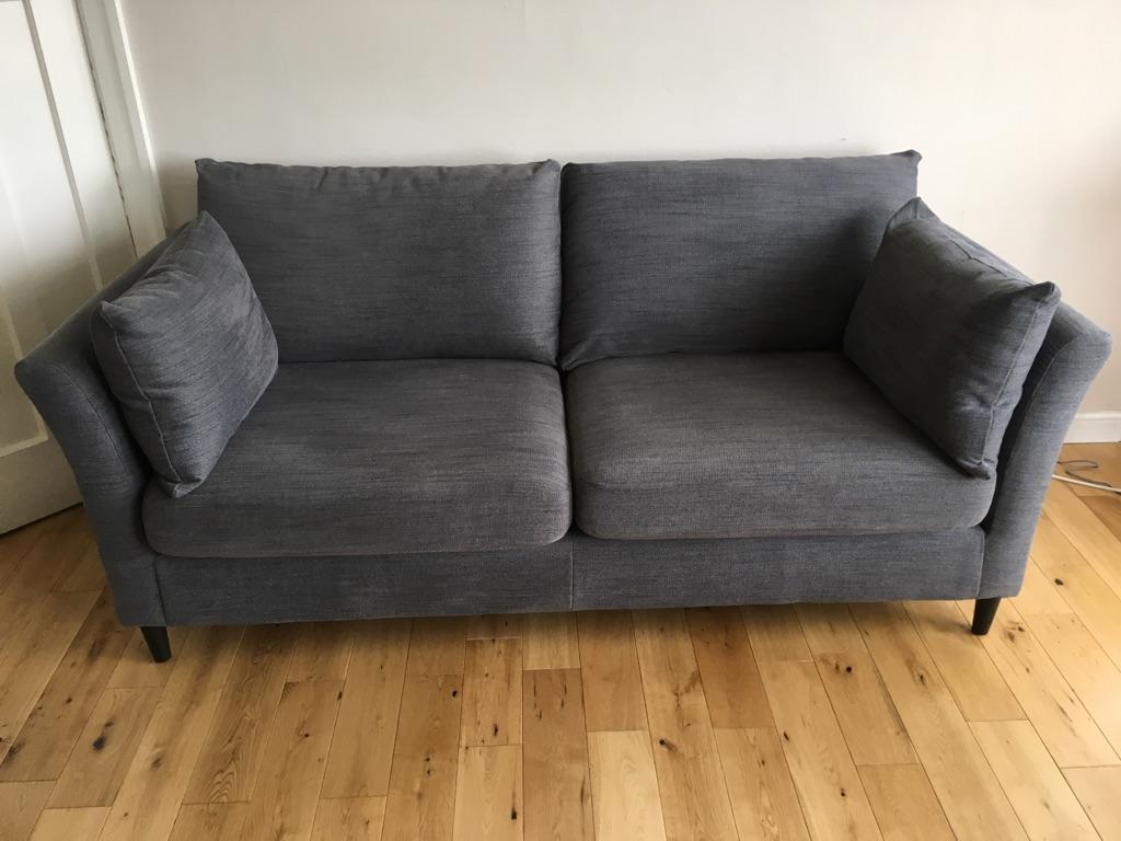 Sofa, armchair & footstool