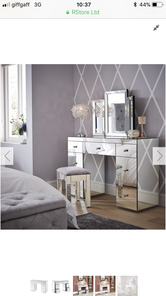 Crushed Velvet Bedroom Suite