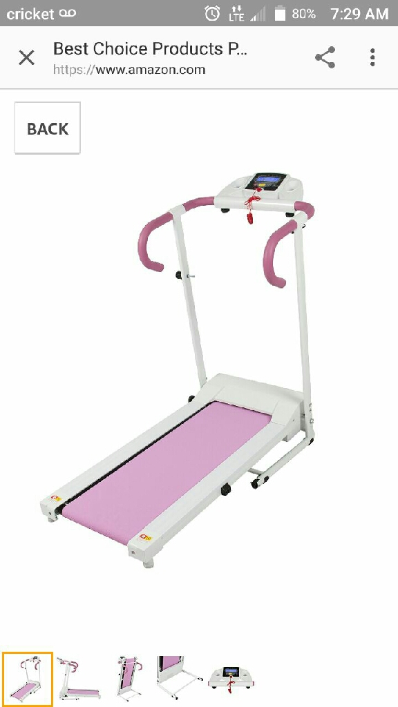 Electric treadmill 500w