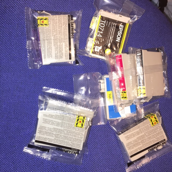 Ink cartridges for Epsom SX600FW