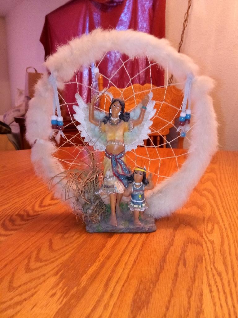 Angel with child dreamcatcher