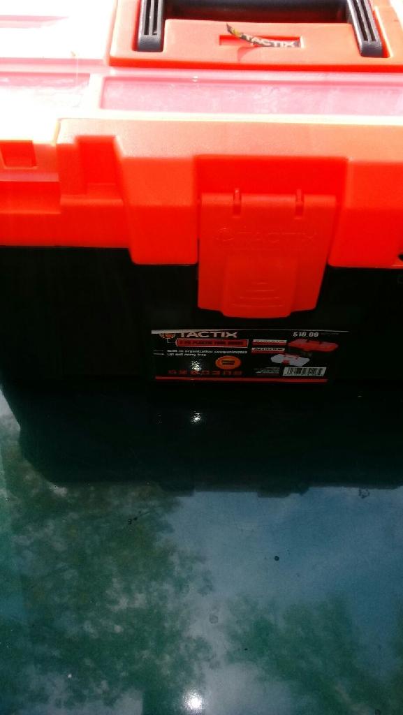 2 piece plastic tool boxs