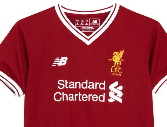 Liverpool home shirt size L