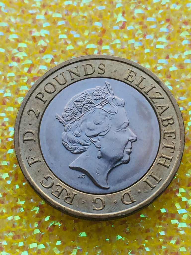 2 pound coin the First World War 1914.1918. 2016.