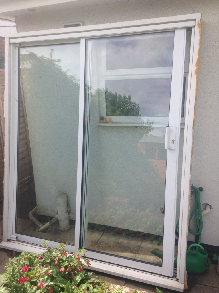 Free White PVC sliding doors