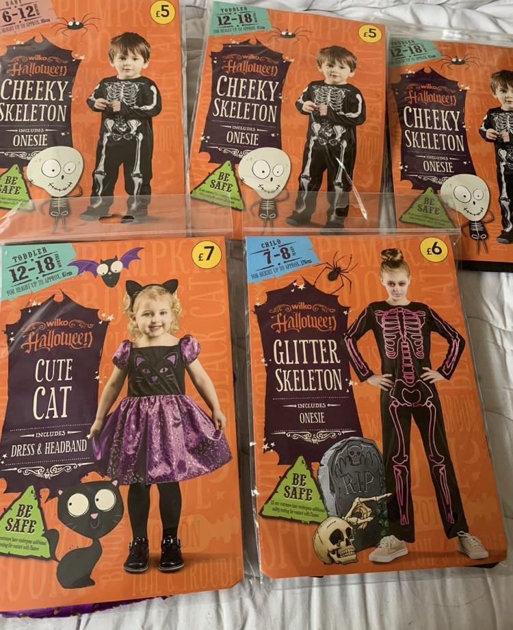 KIDS HALLOWEEN COSTUMES BARGAIN