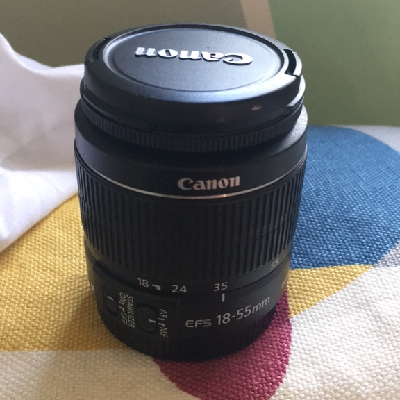 Canon 18-55 mm - image stabilizer _ macro 0.25m/ 0.8 ft