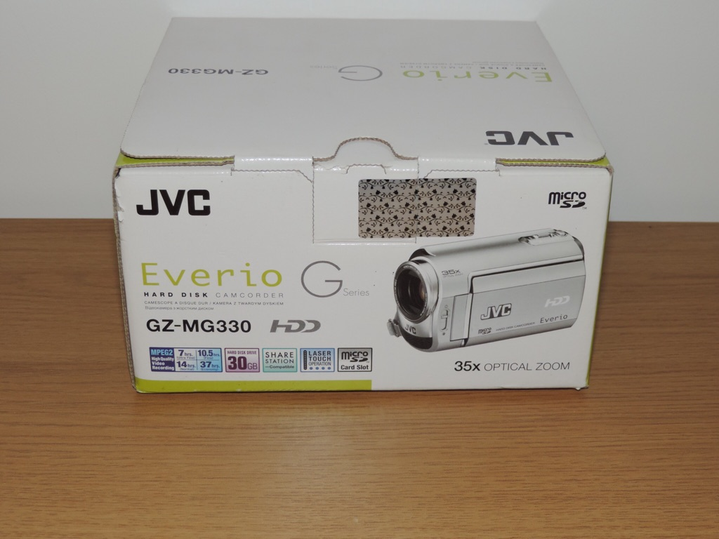 JVC Everio GZ-MG330 30GB camcorder £100 ono