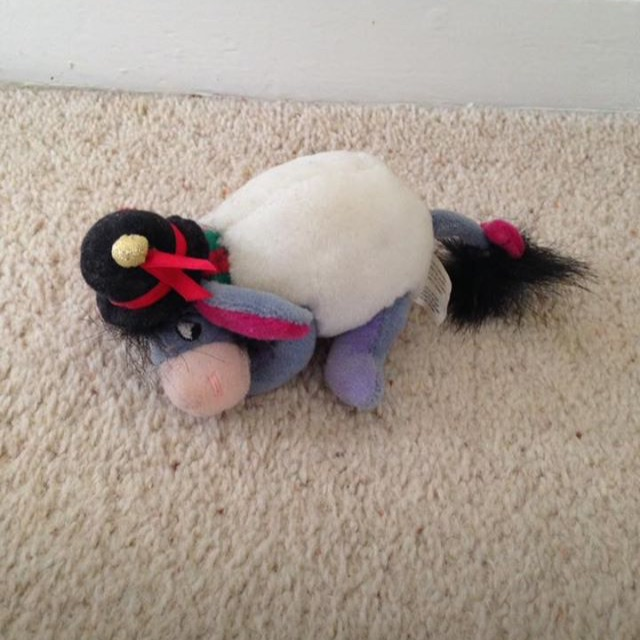Disney Small Snowman Eeyore Teddy