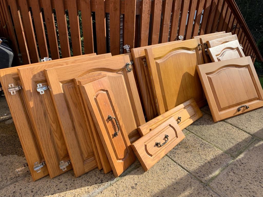 Solid Wood Kitchen Door & Drawer Fronts