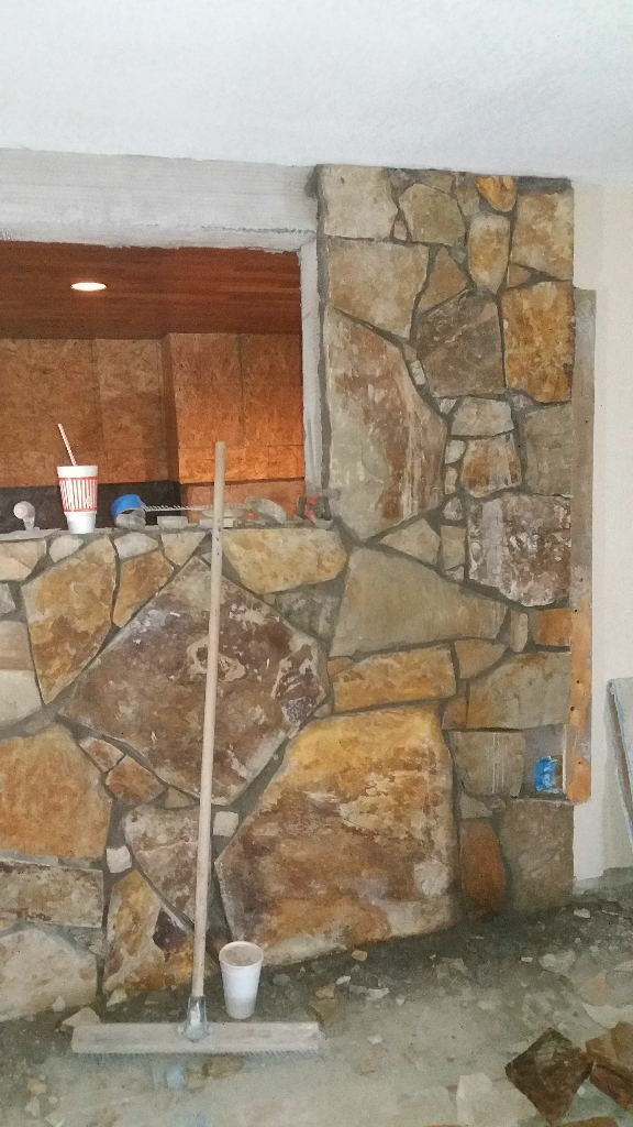 We do rock work,patios,