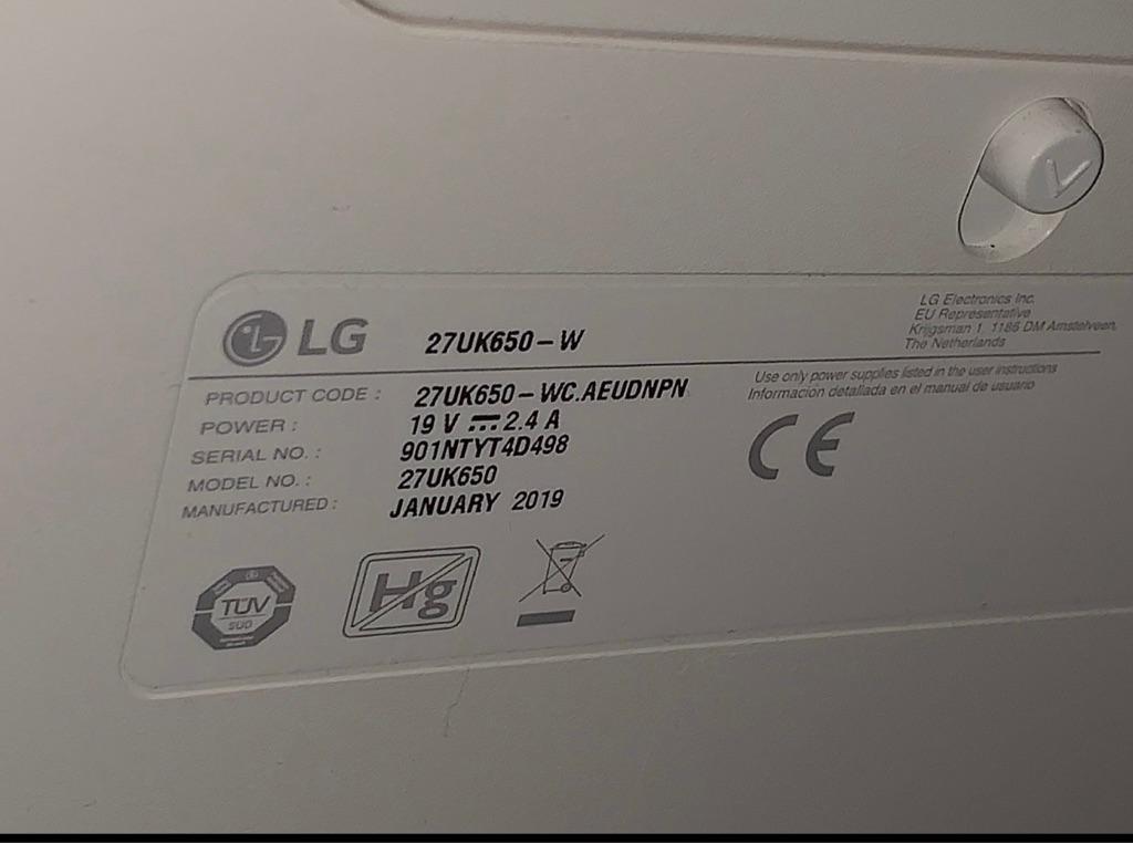 4K LG Gaming Monitor