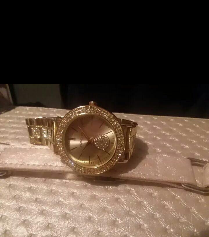 Gold BeBe watch